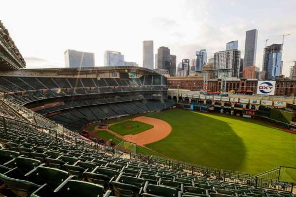 Minute Maid Park, section: 431, row: 9, seat: 9