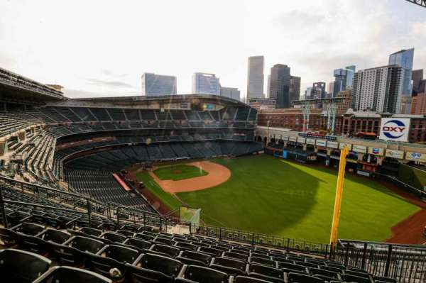 Minute Maid Park, section: 434, row: 9, seat: 7