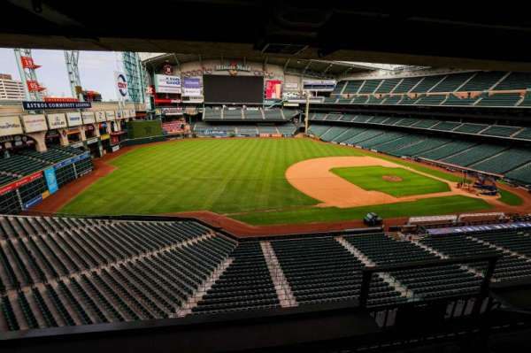 Minute Maid Park, section: STE 1