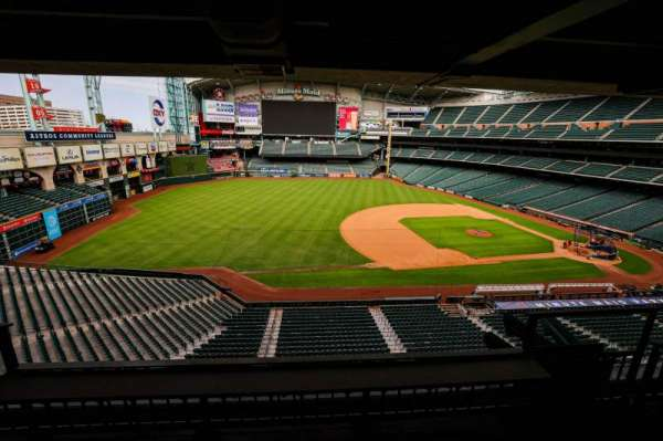 Minute Maid Park, section: STE 3