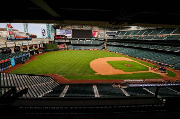 Minute Maid Park, section: STE 4