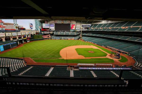 Minute Maid Park, section: STE 7
