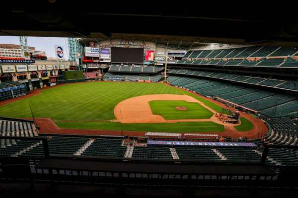 Minute Maid Park, section: STE 8
