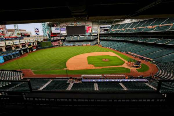 Minute Maid Park, section: STE 9