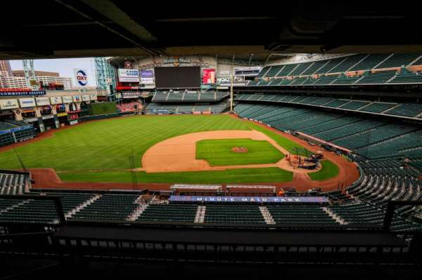 Minute Maid Park, section: STE 10