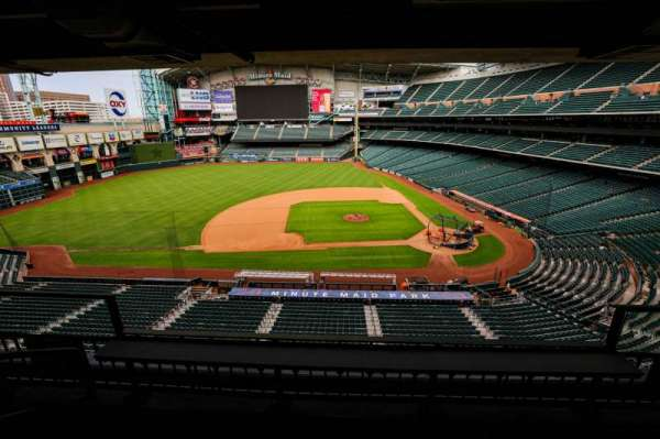 Minute Maid Park, section: STE 11