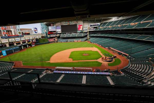 Minute Maid Park, section: STE 12