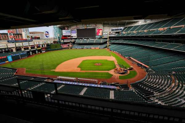 Minute Maid Park, section: STE 14