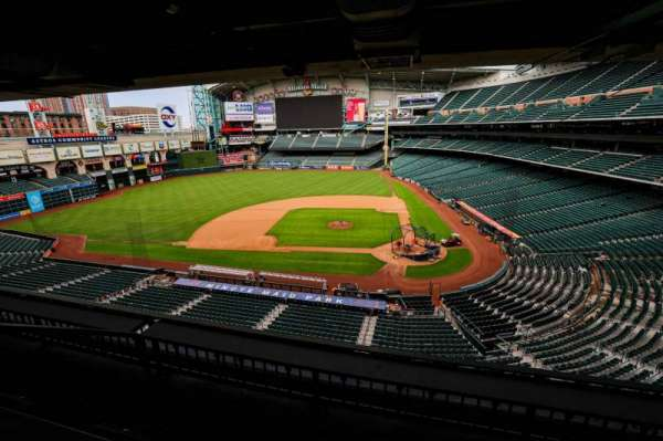 Minute Maid Park, section: STE 15