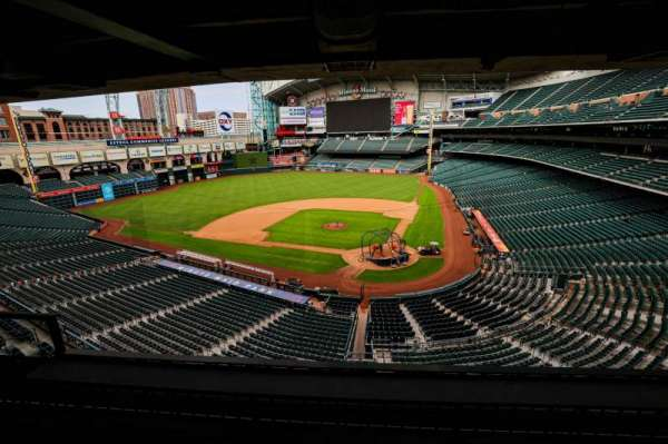 Minute Maid Park, section: STE 18