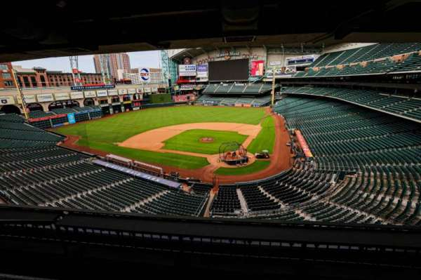 Minute Maid Park, section: STE 19