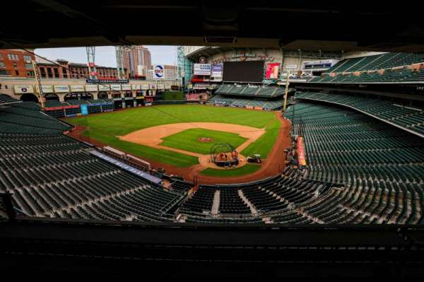 Minute Maid Park, section: STE 20