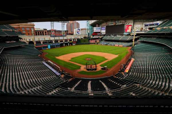 Minute Maid Park, section: STE 22