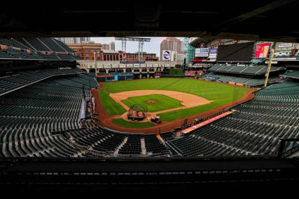 Minute Maid Park, section: STE 26