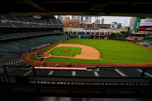 Minute Maid Park, section: STE 35