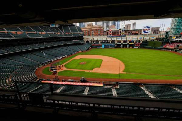 Minute Maid Park, section: STE 36