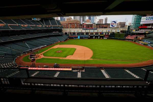Minute Maid Park, section: STE 37