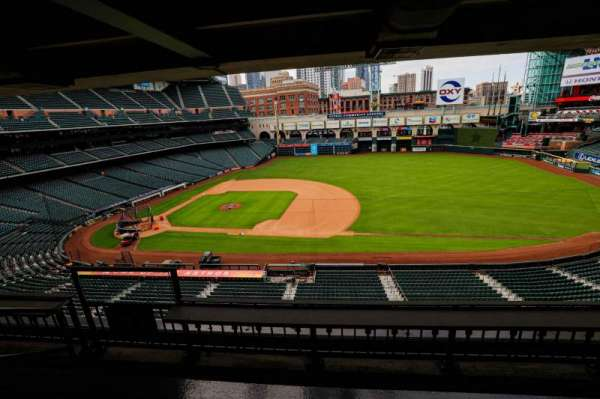 Minute Maid Park, section: STE 38