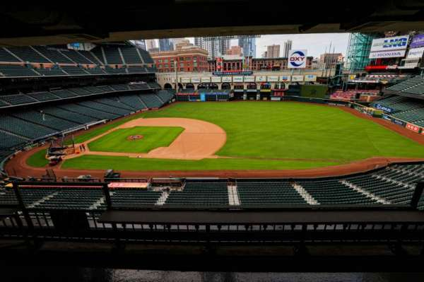 Minute Maid Park, section: STE 39