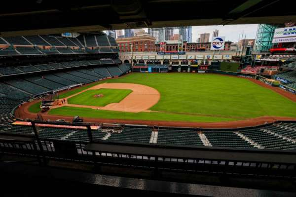 Minute Maid Park, section: STE 40