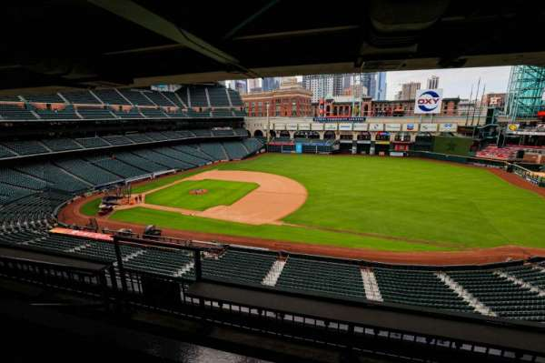 Minute Maid Park, section: STE 41