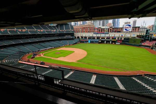 Minute Maid Park, section: STE 43