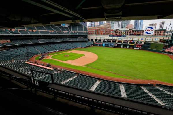 Minute Maid Park, section: STE 44