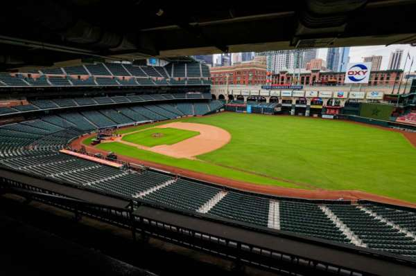 Minute Maid Park, section: STE 45