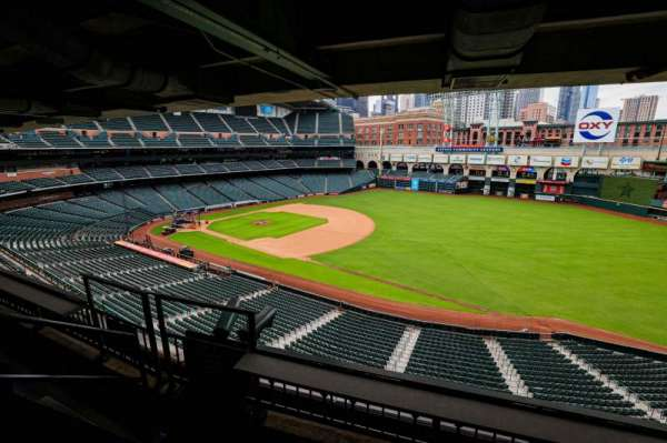 Minute Maid Park, section: STE 46