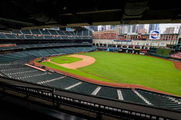 Minute Maid Park, section: STE 47