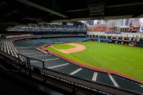 Minute Maid Park, section: STE 48