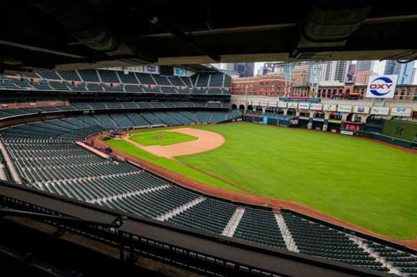 Minute Maid Park, section: STE 49