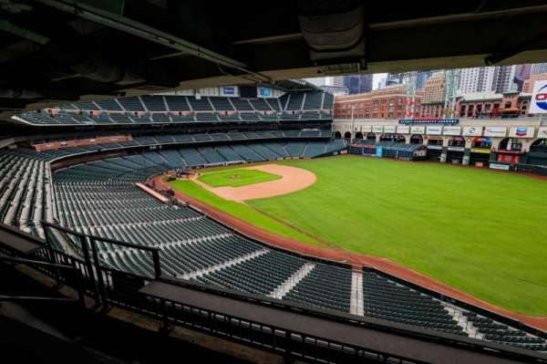 Minute Maid Park, section: STE 50
