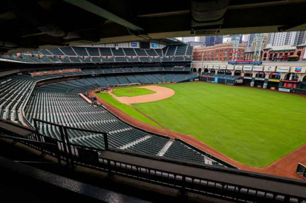 Minute Maid Park, section: STE 52