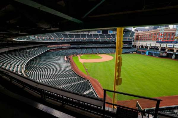 Minute Maid Park, section: STE 55