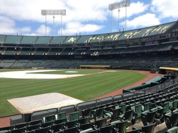 Oakland Coliseum, section: 127, row: 8