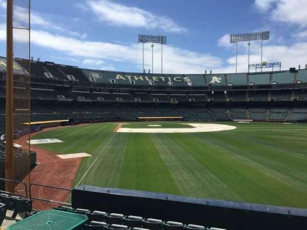 Oakland Coliseum, section: Hero Deck