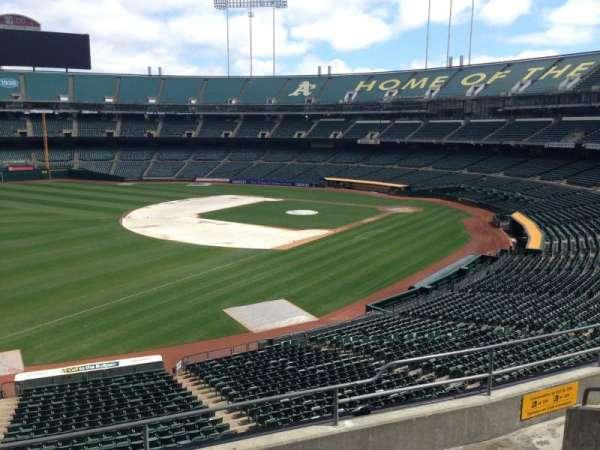 Oakland Coliseum, section: 228, row: 3
