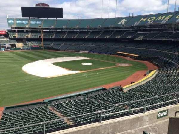 Oakland Coliseum, section: 225, row: 3