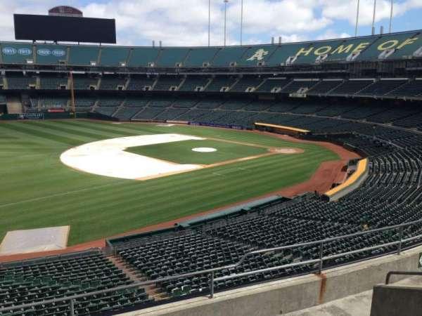 Oakland Coliseum, section: 226, row: 3