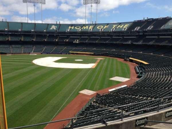 Oakland Coliseum, section: 231, row: 3