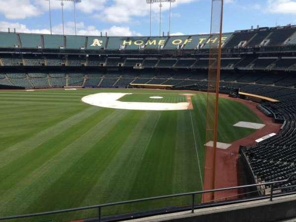 Oakland Coliseum, section: 232, row: 3