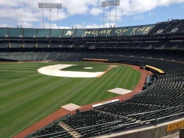 Oakland Coliseum, section: 230, row: 3