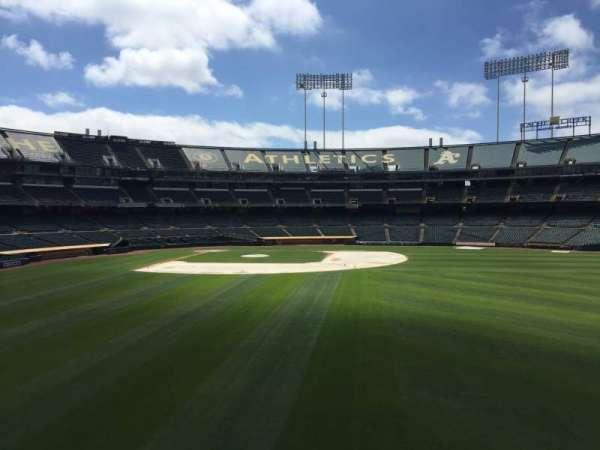 Oakland Coliseum, section: BLCHR