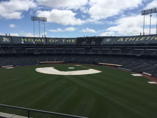 Oakland Coliseum, section: 238, row: 2
