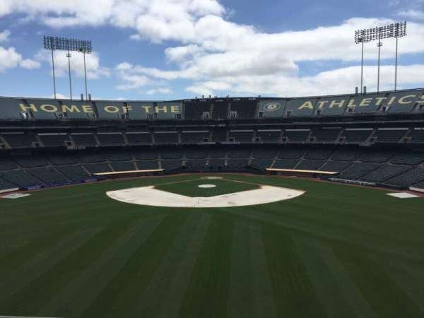 Oakland Coliseum, section: 241, row: 2