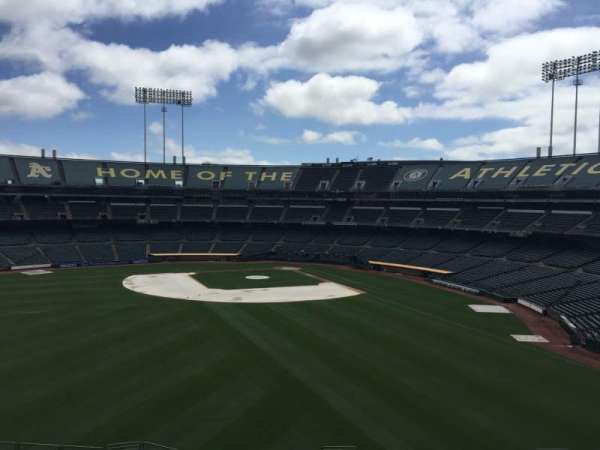 Oakland Coliseum, section: 237, row: 2