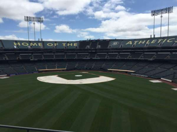 Oakland Coliseum, section: 239, row: 2