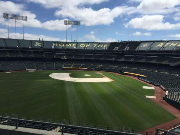 Oakland Coliseum, section: 235, row: 2