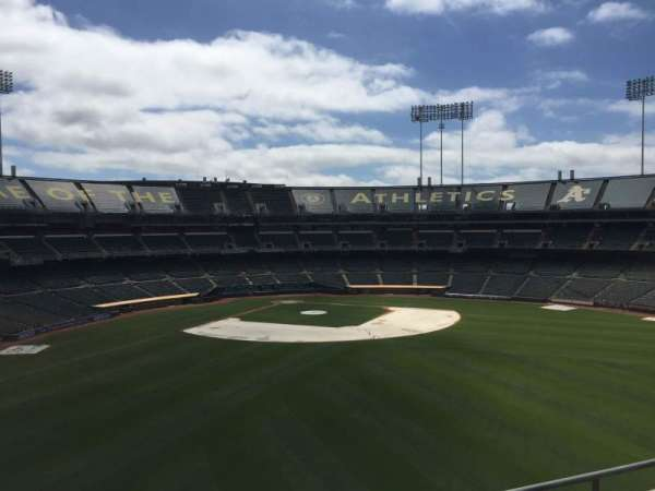 Oakland Coliseum, section: 246, row: 2